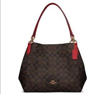 Sold‼️NWT COACH HALLIE SHOULDER BAG‼️sold